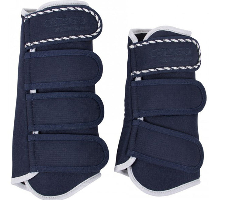 CATAGO Diamond Dressage Boots Navy