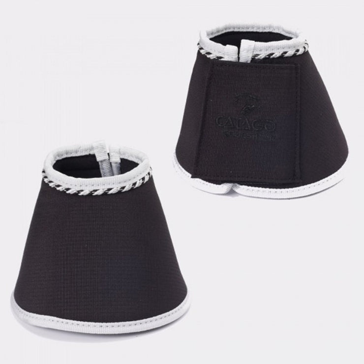 CATAGO Diamond Bell Boots Black/White