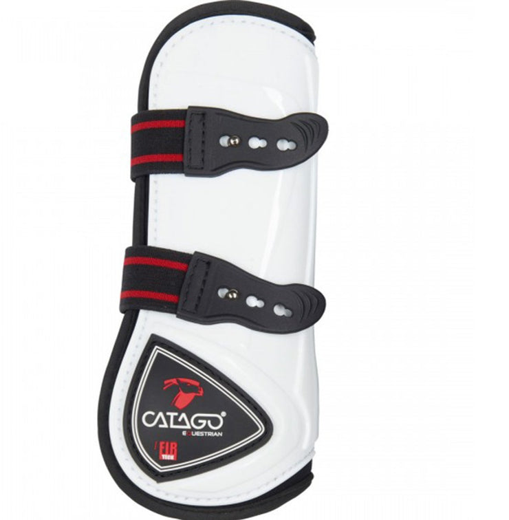 CATAGO FIR-Tech Healing Tendon Boots, White, Full