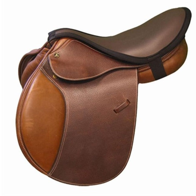 ThinLine Seat Maker for English Riders Close Contact Dark Brown
