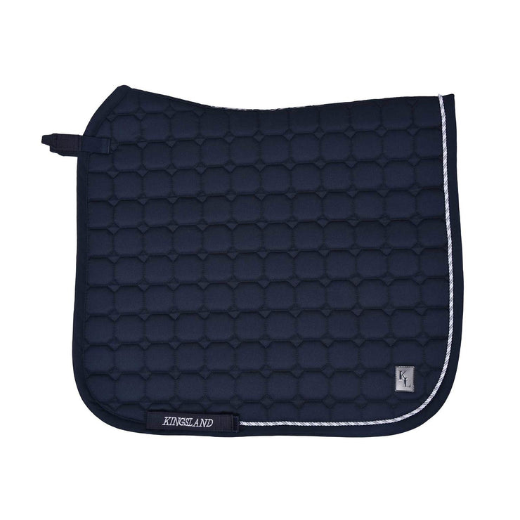 Kingsland Classic Dressage Saddle Pad, Navy