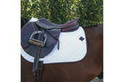 Kentucky Horsewear Saddle Pad Intelligent Absorb White Edition Full