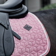 Kentucky Horsewear Saddle Pad Wool Dressage, Light Pink