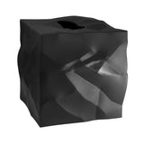 Essey Black Wipy Cube Tissue Holder