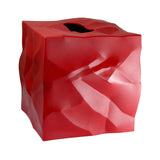 Essey Red Wipy Cube Tissue Holder