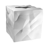 Essey White Wipy Cube Tissue Holder