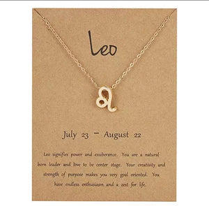 Zodiac Symbol Necklaces