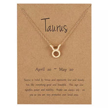 Load image into Gallery viewer, Zodiac Symbol Necklaces