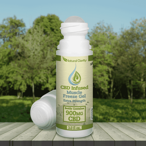 CBD Infused Muscle Freeze