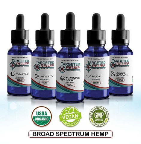 Targeted Relief Hemp Tincture