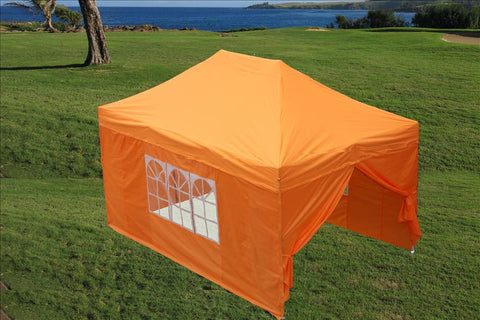 E Model 10'x15' Orange - Pop Up Tent