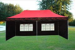 E Model 10'x20' Red Flame - Pop Up Tent