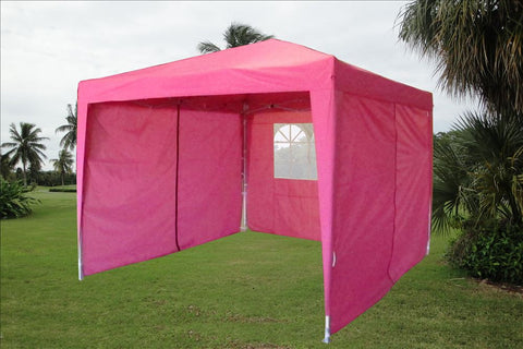 CS 10'x10' Pink - Pop Up Tent