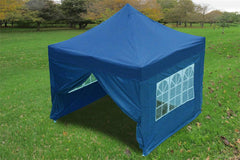 F Model 10'x10' Navy Blue - Pop Up Tent Pro