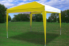 CS N 10'x10' Yellow White - Pop Up Tent