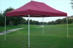 E Model 10'x15' Maroon - Pop Up Tent