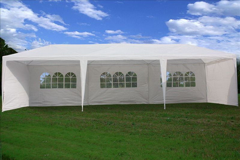 Pe Wedding Tent 10 X30 White Gazebo Party Pavilion