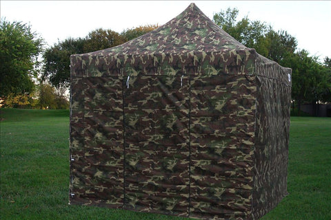 F Model 10'x10' Camouflage - Pop Up Tent Pro