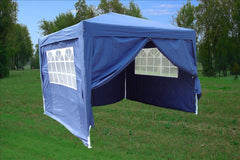 CS 10'x10' Navy Blue - Pop Up Tent