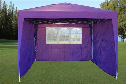 CS 10'x10' Purple - Pop Up Tent
