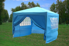 CS 10'x10' Sky Blue - Pop Up Tent