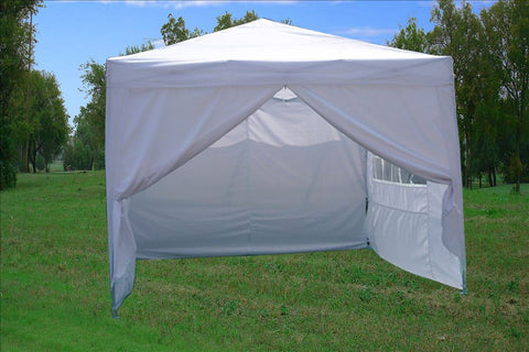 CS 10'x10' White - Pop Up Tent