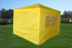CS 10'x10' Yellow - Pop Up Tent