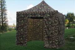 E Model 10'x10' Camouflage - Pop Up Tent