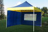 E Model 10'x10' Navy Blue Yellow - Pop Up Tent
