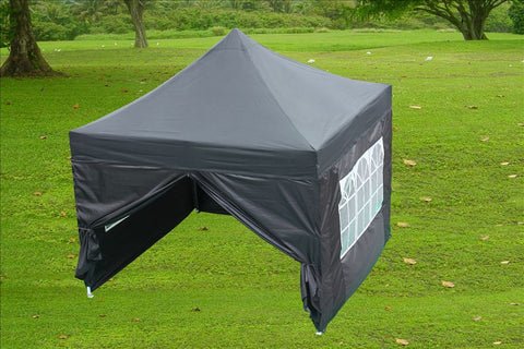 E Model 10'x10' Black - Pop Up Tent