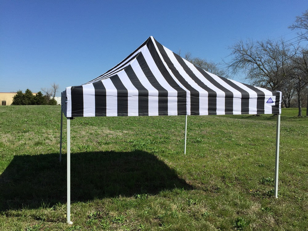 F Model 10u0027x10u0027 Black Stripe - Pop Up Tent Pro : striped canopy tent - memphite.com