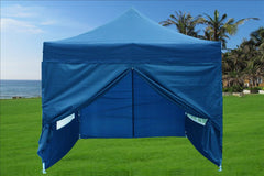 E Model 10'x10' Navy Blue - Pop Up Tent