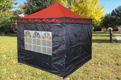 E Model 10'x10' Red Flame - Pop Up Tent