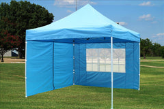 E Model 10'x10' Sky Blue - Pop Up Tent