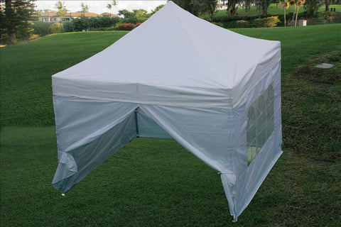 E Model 10'x10' White - Pop Up Tent