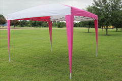 CS N 10'x10' Pink White - Pop Up Tent