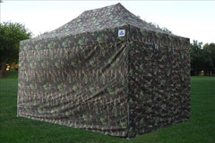 F Model 10'x15' Camouflage - Pop Up Tent Pro