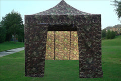 E Model 10'x15' Camouflage - Pop Up Tent
