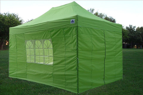 F Model 10'x15' Emerald - Pop Up Tent Pro