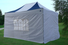 E Model 10'x15' Navy Blue White - Pop Up Tent