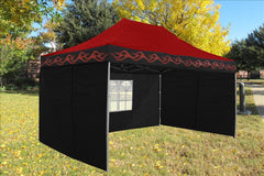 F Model 10'x15' Red Flame - Pop Up Tent  Pro