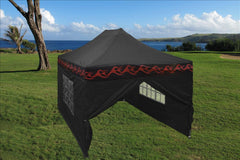 E Model 10'x15' Black Flame - Pop Up Tent