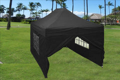 E Model 10'x15' Black - Pop Up Tent