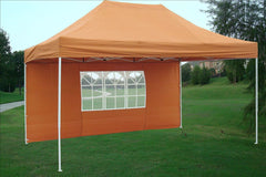 E Model 10'x15' Burnt Orange - Pop Up Tent