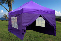 E Model 10'x15' Purple - Pop Up Tent