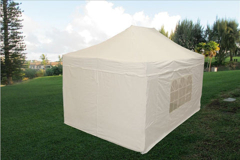 E Model 10'x15' White - Pop Up Tent