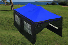 F Model 10'x20' Blue Flame - Pop Up Tent Pro