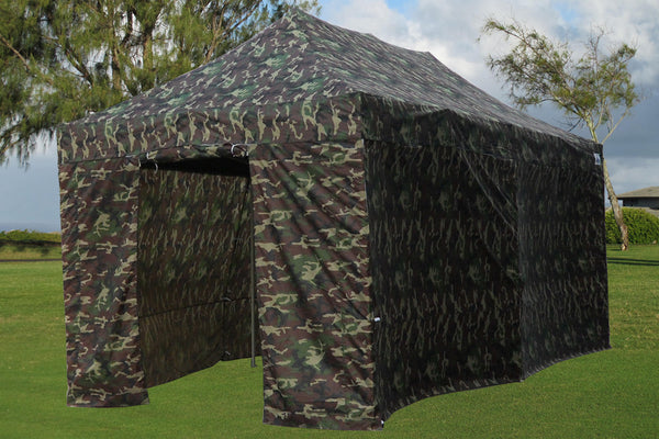 E Model 10 X20 Camouflage Pop Up Tent Deltacanopy