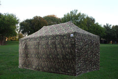 F Model 10'x20' Camouflage - Pop Up Tent Pro