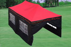 F Model 10'x20' Red Flame - Pop Up Tent Pro